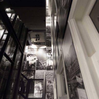 De Entree van de Rokin appartementen zijn ontworpen door interieurontwerper Cris van Amsterdam.