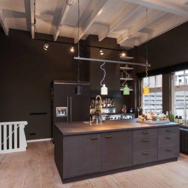 Woonhuis Egelantiersstraat in Amsterdam is ontworpen door Interieurontwerper Cris van Amsterdam.