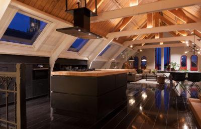 Oudegracht utrecht ontworpen door interieurontwerper Cris Van Amsterdam