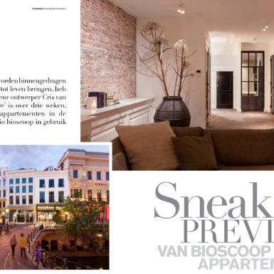 Utrecht Oudegracht, prachtige appartementen midden in de stad ontworpen door interieurontwerper Cris van Amsterdam.